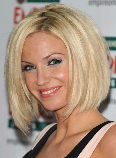 Sarah Harding Chic, Blonde Bob