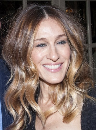Sarah Jessica Parker's Blonde, Wavy, Tousled, Party Hairstyle