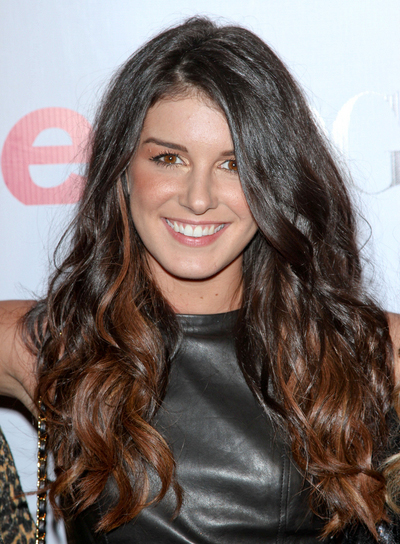 Shenae Grimes Long, Thick, Tousled, Wavy, Brunette Hairstyle