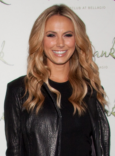 Stacy Keibler Long, Wavy, Sexy, Sophisticated, Blonde Hairstyle