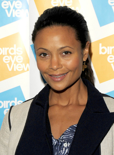 Thandie Newton Straight Ponytail