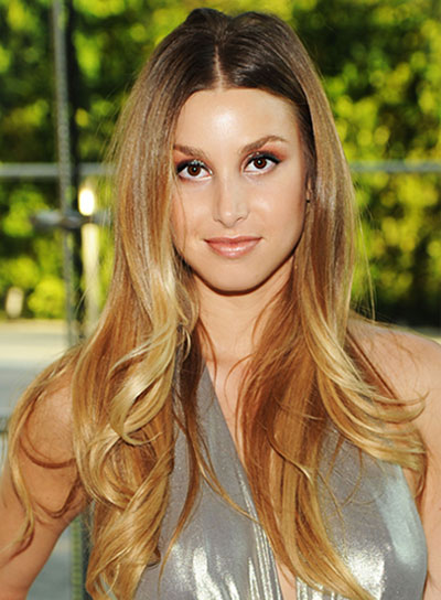 Whitney Port Long, Chic, Layered Hairstyle